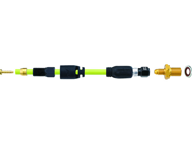 Jagwire Pro QF Aansluitingsset voor Shimano XTR/M975/Deore XT, zwart/geel